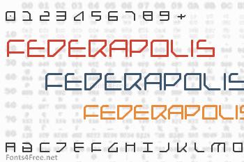 Federapolis Font