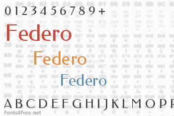 Federo Font