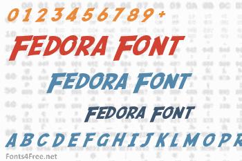 Fedora Font
