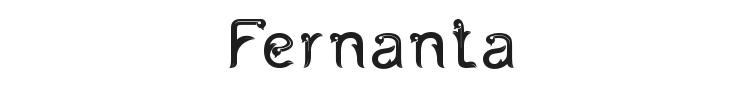 Fernanta Font Preview