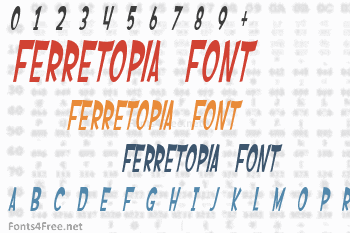Ferretopia Font