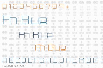 Fh Blue Font