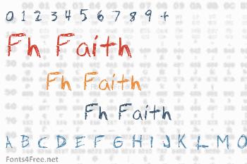 Fh Faith Font