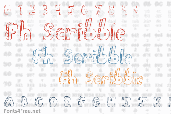 Fh Scribble Font