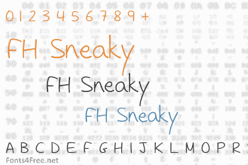 FH Sneaky Font
