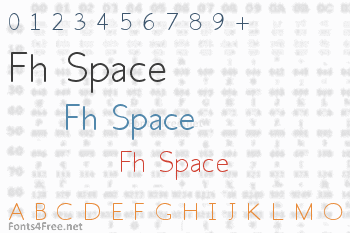 Fh Space Font