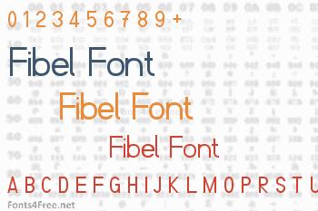 Fibel Font
