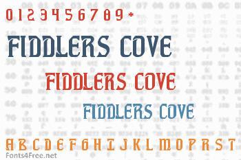 Fiddlers Cove Font