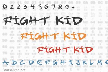 Fight Kid Font