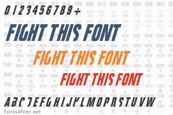 Fight This Font