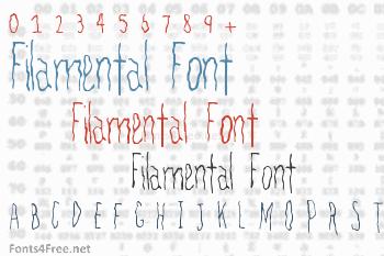 Filamental Font