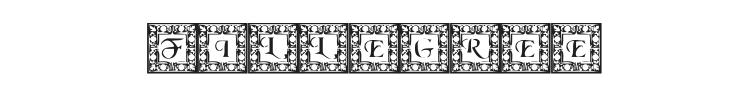 Fillegree Caps Font