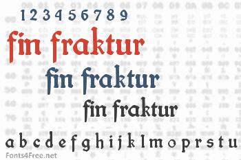 Fin Fraktur Font