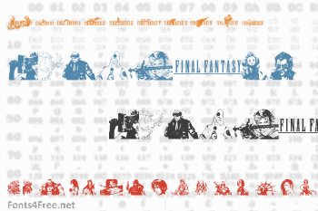 Final Fantasy Elements Font
