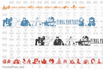 Final Fantasy Elements Font