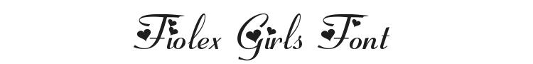 Fiolex Girls Font Preview
