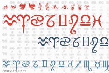 Fiolex Mephisto Dingbats Font