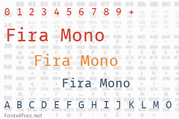 Fira Mono Font