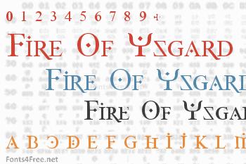 Fire Of Ysgard Font