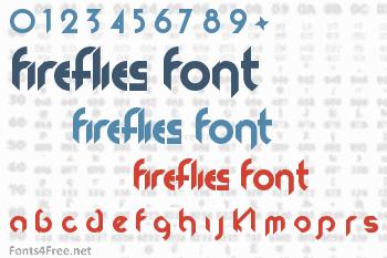 Fireflies Font