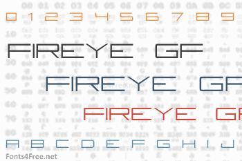 Fireye GF Font
