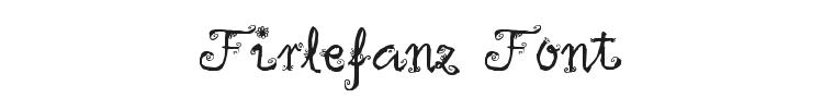 Firlefanz Font Preview