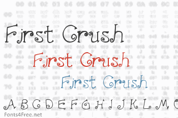First Crush Font