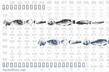 FishyPrint Font