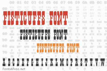 Fisticuffs Font