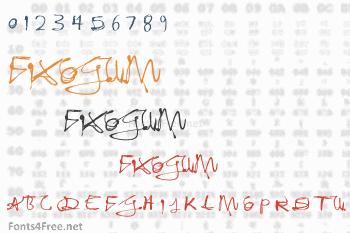 Fixogum Font