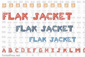 Flak Jacket Font