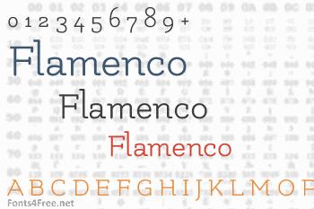Flamenco Font
