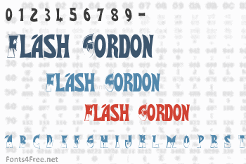 Flash Gordon Font