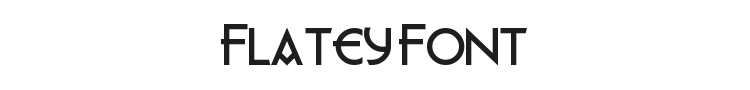 Flatey Font