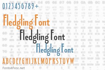 Fledgling Font