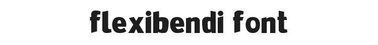FlexiBendi Font