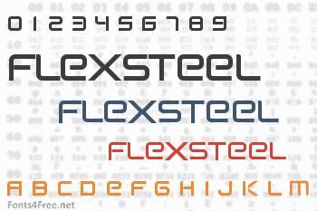 Flexsteel Font