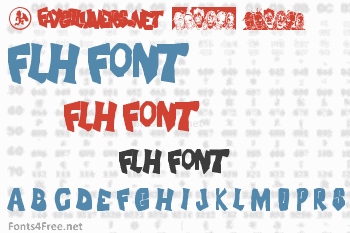 FLH Font