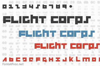 Flight Corps Font