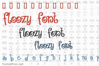 Floozy Font