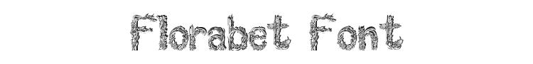 Florabet Font Preview