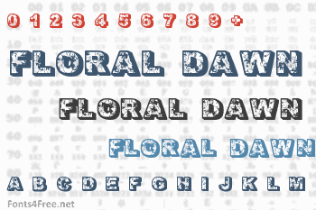 Floral Dawn Font