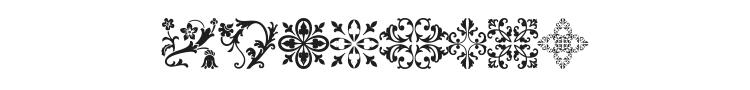 Floralia Font Preview