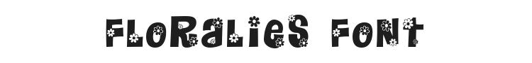 Floralies Font Preview