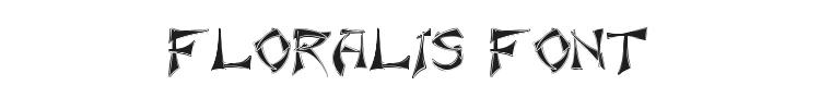 Floralis Font Preview
