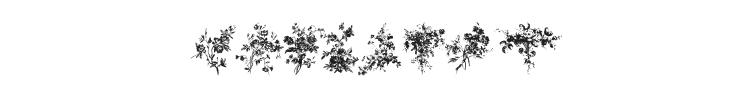Florals 1 Font Preview