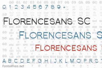 Florencesans SC Font