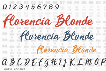 Florencia Blonde Font