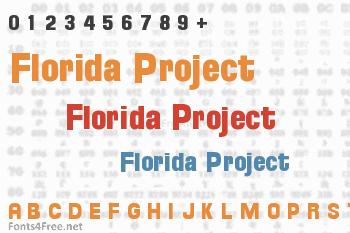 Florida Project Font