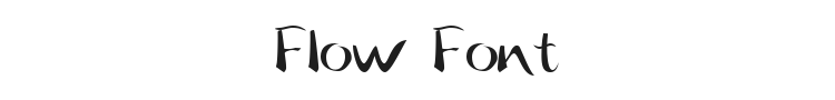Flow Font Preview